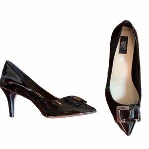 Jones New York Patent Pointy Heels